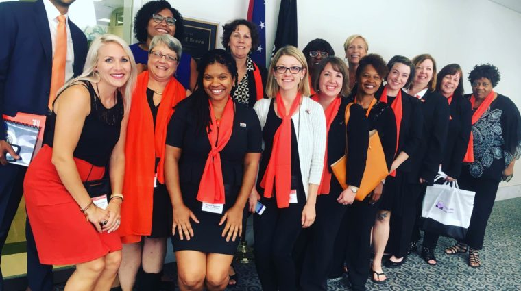 image-women at capital hill day in Washington DC