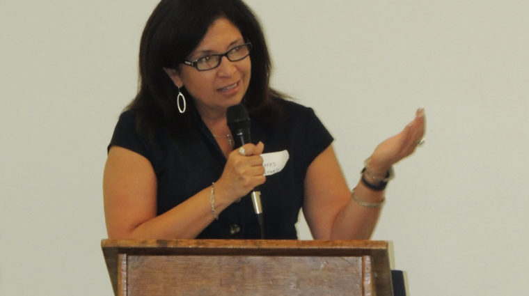 image-dolores guerrero speaking