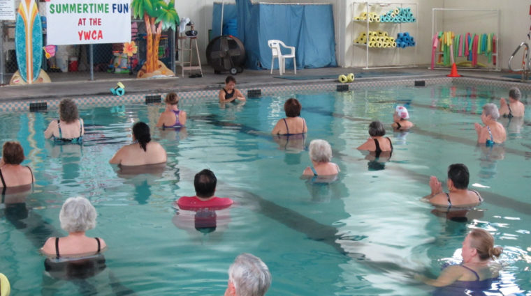 image-fitness connection water aerobics