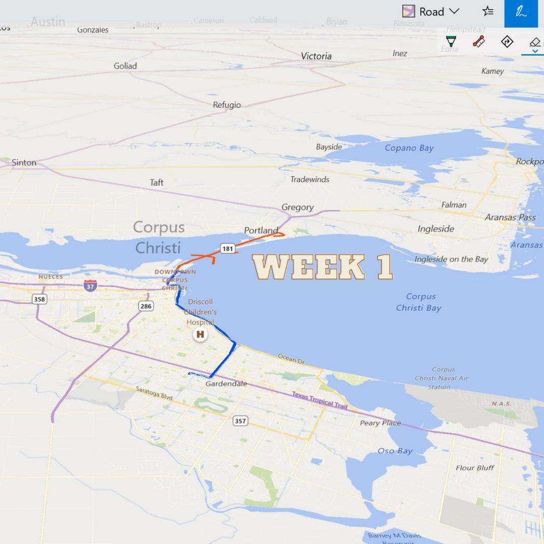 Week 1 Route
